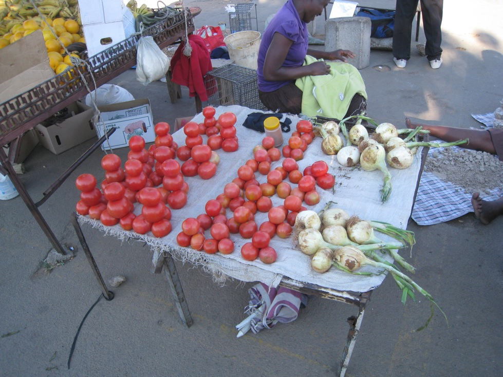 the rank market on the first day of my trip to Zimbabwe earlier this year